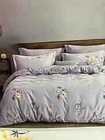 Комплект постельного белья евро сатин 100% хлопок 4 наволочки