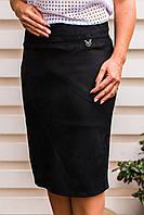 Универсальная базовая юбка – необходимый предмет одежды женского гардероба р.54,56  код 3180М, фото 1