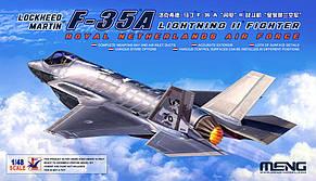 Lockheed Martin F-35A Lightning II Fighter Royal Netherlands Air Force. 1/48 MENG MODEL LS-011