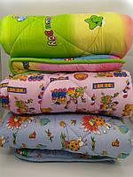 Ковдра дитяче ліжечко 100х140 силікон кольори в асортименті