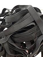 Резинка тканая 012мм цв черный (уп 25м) 2866 Укр-з