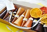 Подарочный набор пастилы 10 вкусов + 1 в подарок (11 вкусов + фрипсы), фото 2