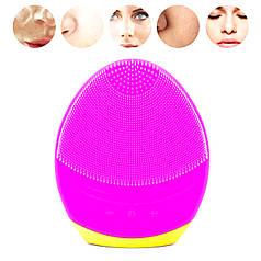 Щетка-массажер для чистки лица Smallbei BC1819 Pink очистка пор лица массаж и красота вашей кожи