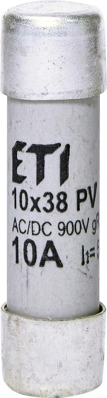 Предохранитель ETI CH 10x38 gR PV 10A 900V AC/DC 50/8kA 2625031 (для фотоэлектрических систем PV)