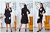 Женское платье свободного кроя с карманами и разрезами 46-48, 50-52, 54-56, 58-60, фото 2
