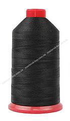 Нитка швейная,обувная TYTAN N40 Black цвет черный 3000м. Турция
