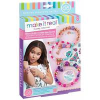 Набір для створення шарм-браслетів  «Квіткова фантазія»  Make it Real  (MR1202)