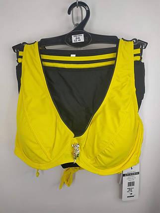 Купальник на косточках Sisisanna 59904 желтый на 50 52 54 56 58 размер, фото 2