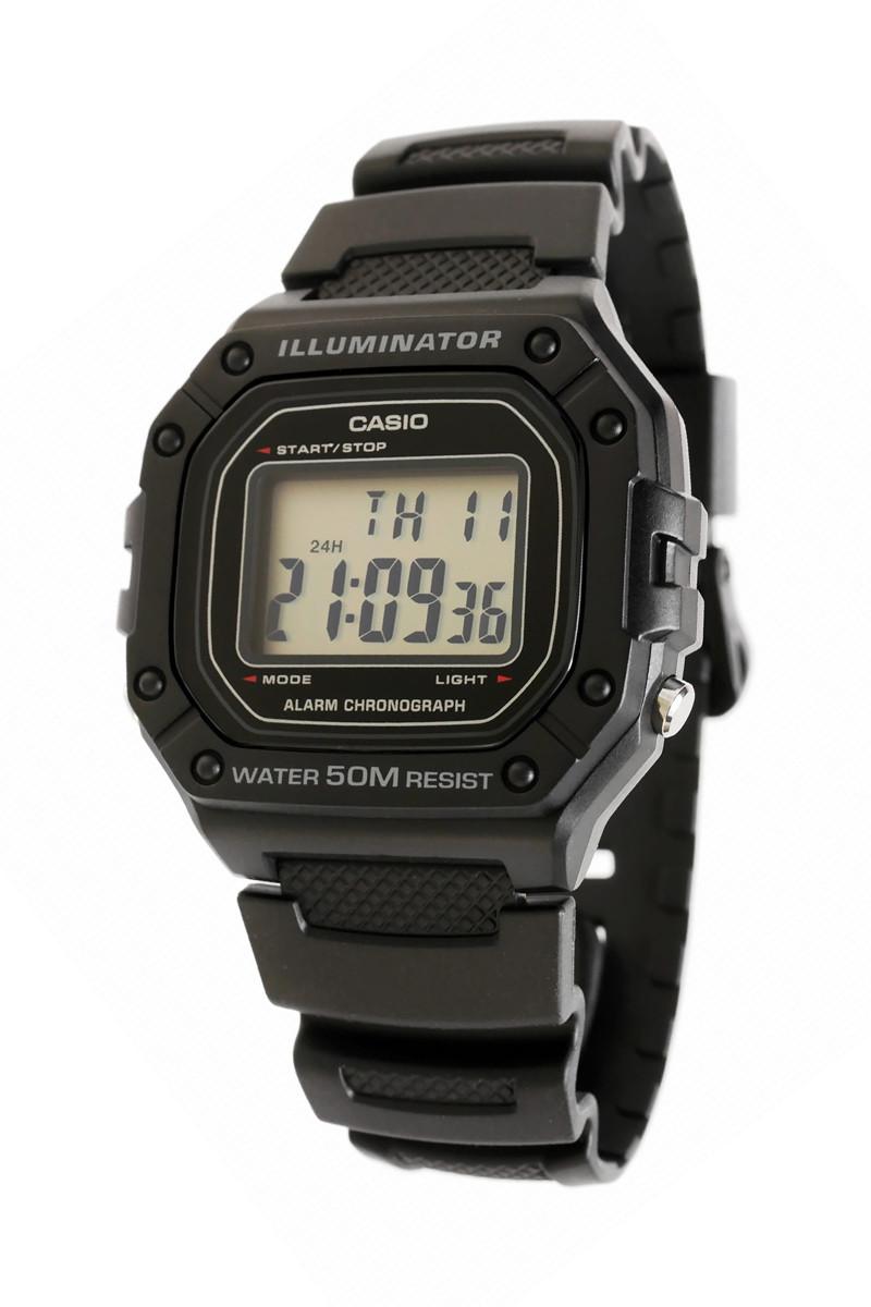 Часы CASIO W-218H-1A