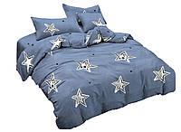 Комплект постельного белья Сатин Dalwin 099 M&M 4531 Синий