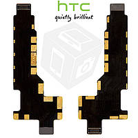 Шлейф для HTC Desire 600 Dual Sim межплатный, с компонентами, оригинал
