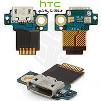 Шлейф для HTC Incredible S S710e, коннектора зарядки, с компонентами, оригинал
