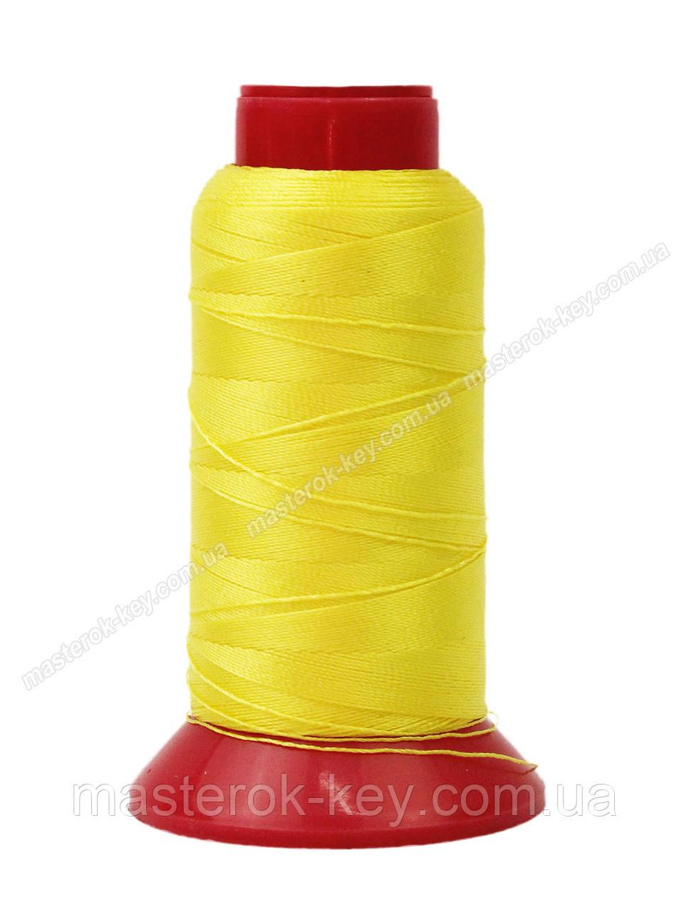 Нитка швейная,обувная TYTAN N40 A58 цвет желтый 500м. Турция