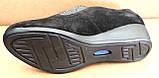 Туфли черные женские на полную ногу от производителя модель БД8Т, фото 9
