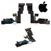 Шлейф для iPhone 6, c датчиком приближения, с камерой, с микрофоном, оригинал