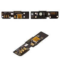 Шлейф для Meizu MX2, коннектора зарядки, с компонентами, оригинал