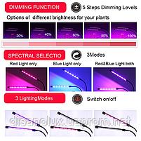Фито светильник  прищепка  для растений Led  VGL -27W Full Spectrum  USB 5V, фото 10
