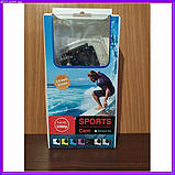 Экшн камера A7 Sport с аквабоксом +Крепление на руль/шлем и защита, фото 5