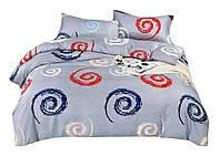 Комплект постельного белья Сатин Dalwin 068 M&M 4715 Синий, Красный, Белый