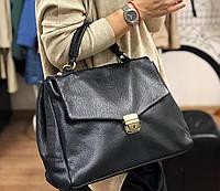 Сумка женская кожаная саквояж Италия , Итальянские кожаные сумки Люкс Laura Biagiotti, фото 1