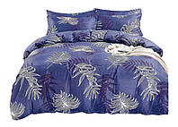 Комплект постельного белья Сатин Dalwin 013 M&M 4753 Синий, Белый