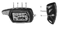 Автосигнализация Sheriff zx 1070 v3(автозапуск) двухсторонняя, фото 5