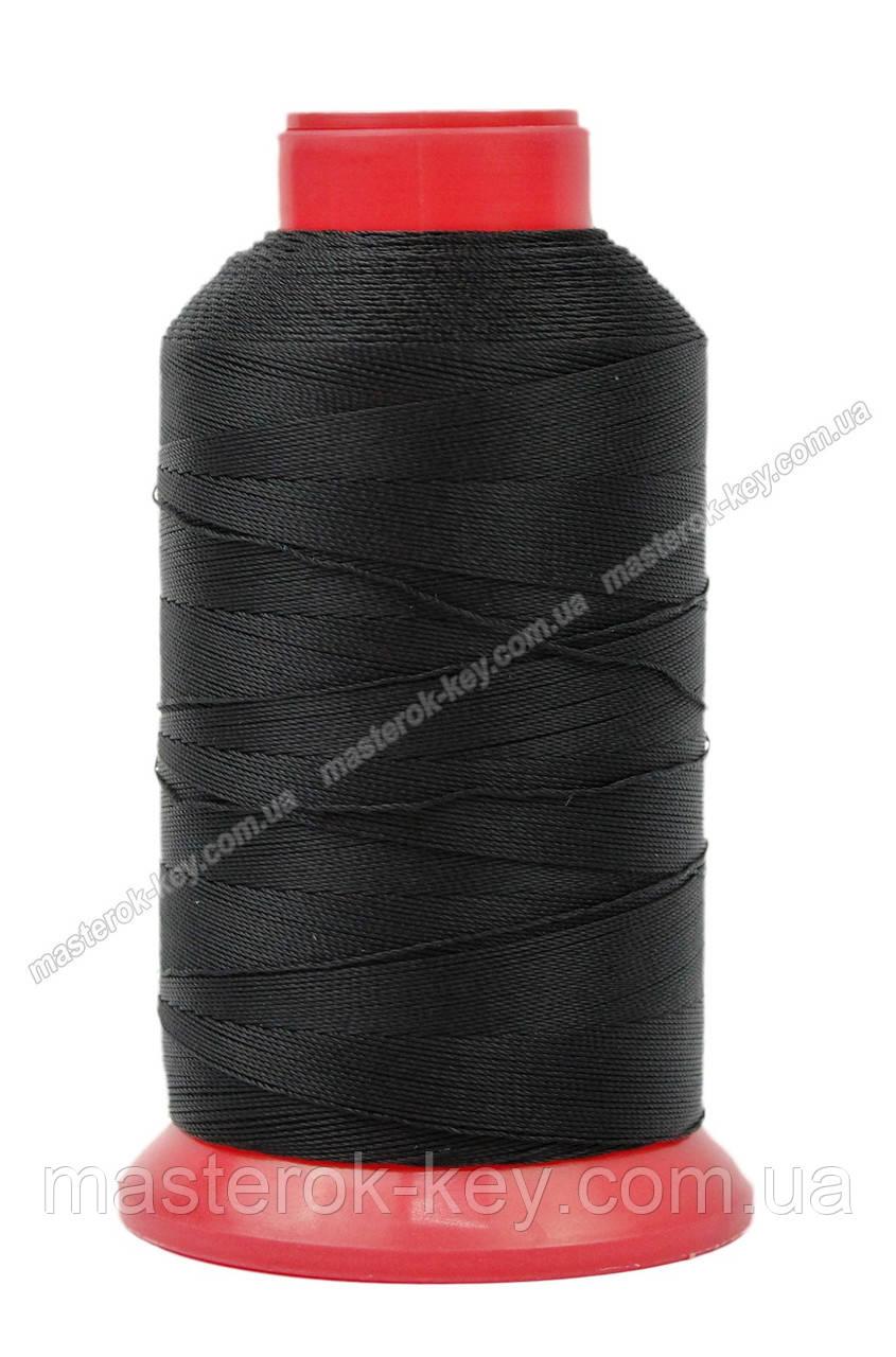 Нитка швейная,обувная TYTAN N40 Black цвет черный 1000м. Турция