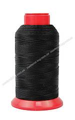 Нитка швейная,обувная TYTAN N20 Black цвет черный 500м. Турция