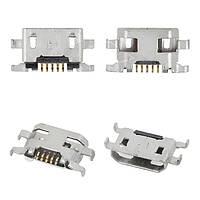Коннектор зарядки для Alcatel One Touch 4015, 4032, 4033, 5050X, 5050Y, 6012, 6035R, 7050Y, 5 pin, micro-USB