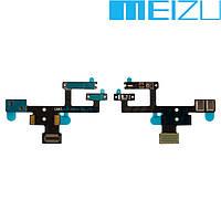 """Шлейф для Meizu MX4 Pro 5.5"""", кнопки включения, с компонентами, оригинал"""