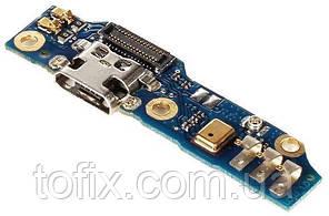 Шлейф для Meizu M1 Note, коннектора зарядки, с компонентами, плата зарядки, оригинал