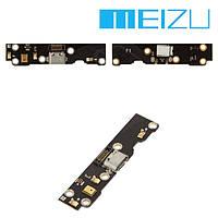 Шлейф для Meizu MX3 (M351), коннектора зарядки, с компонентами, оригинал