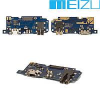 Шлейф для Meizu M5, коннектора зарядки, оригинал