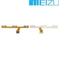 Шлейф для Meizu M5s, кнопки включения, оригинал