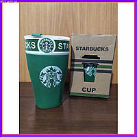 Чашка StarBucks PY 023 зеленая, фото 1