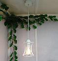 """Подвесной металлический светильник, современный стиль, loft, vintage, modern style """"SANDBOX-W"""" Е27  белый цвет, фото 8"""