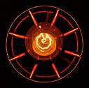 """Подвесной металлический светильник, современный стиль, loft, vintage, modern style """"SANDBOX-R"""" Е27  красный, фото 4"""