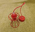 """Подвесной металлический светильник, современный стиль, loft, vintage, modern style """"SANDBOX-R"""" Е27  красный, фото 5"""