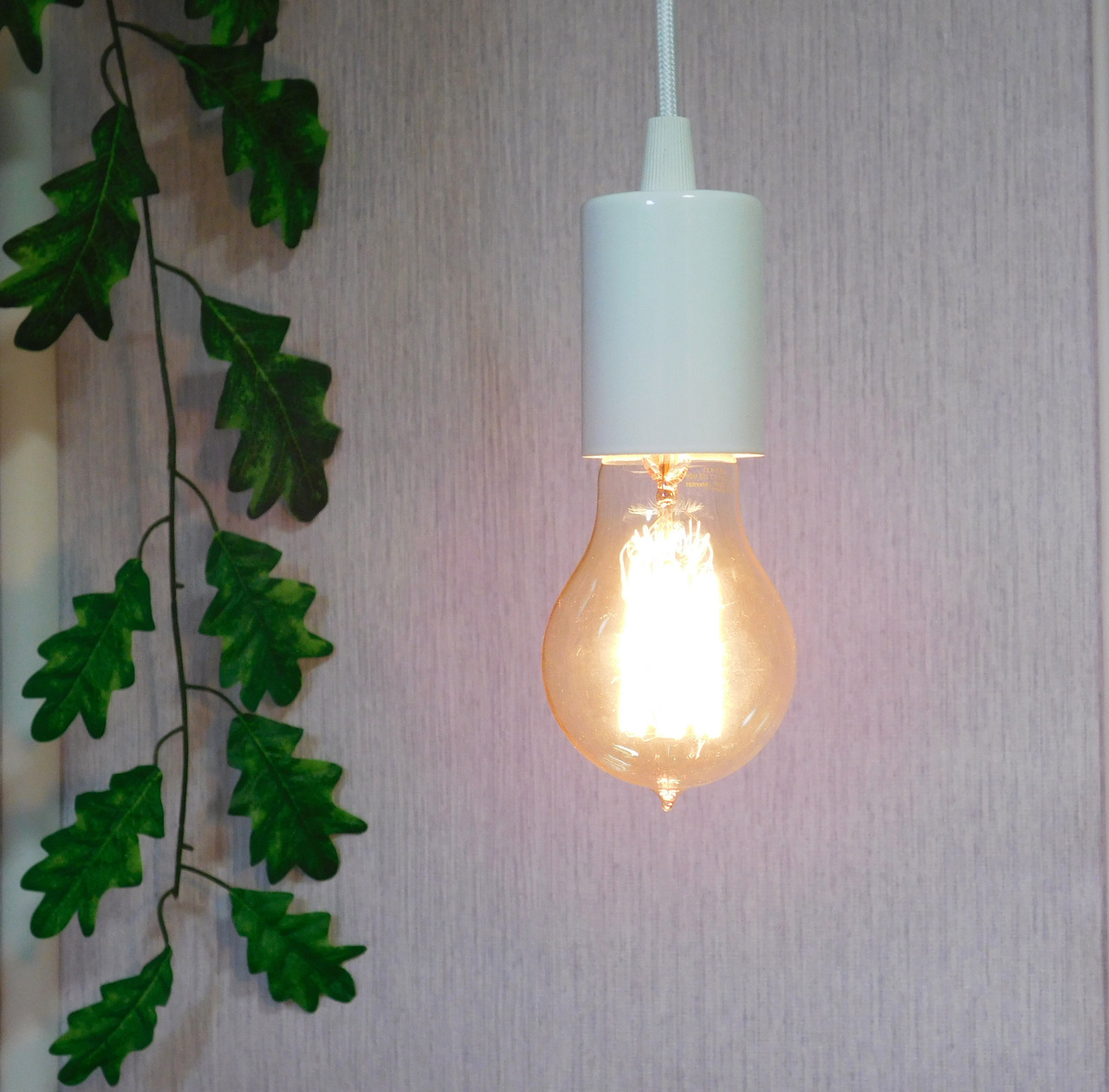 Подвесной металлический светильник, современный стиль, loft, vintage, modern style, минимализм,  белый цвет