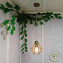 """Подвесной металлический светильник, современный стиль, loft, vintage, modern style """"SKRAB-G"""" Е27 цвет золото, фото 8"""