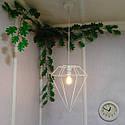 """Подвесной металлический светильник, современный стиль, loft, vintage, modern style """"CRYSTAL-W"""" Е27  белый цвет, фото 8"""