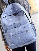 Рюкзаки модные, стильные, разноцветные с узорами.
