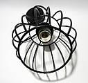 """Подвесной металлический светильник, современный стиль, loft, vintage, modern style """"BARREL"""" Е27  черный цвет, фото 5"""