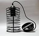 """Подвесной металлический светильник, современный стиль, loft, vintage, modern style """"ASTRAL"""" Е27  черный цвет, фото 2"""