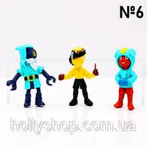 Набор фигурок Бравл Старс 12 фигурок с аксессуарами №6, фото 3