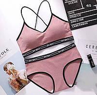 Спортивное нижнее белье,универсальный размер S/M ,розовый цвет