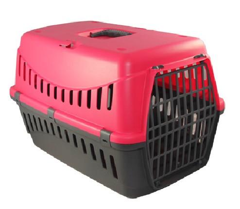 Переноска  GIPSY 1 small Pink, пластиковая дверь, 44x28,5x29,5h см