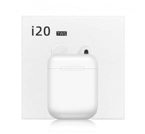 Беспроводные сенсорные наушники TWS i20 White