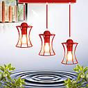 """Подвесной металлический светильник, современный стиль, loft, vintage """"SANDBOX-3R"""" Е27  красны цвет, фото 8"""