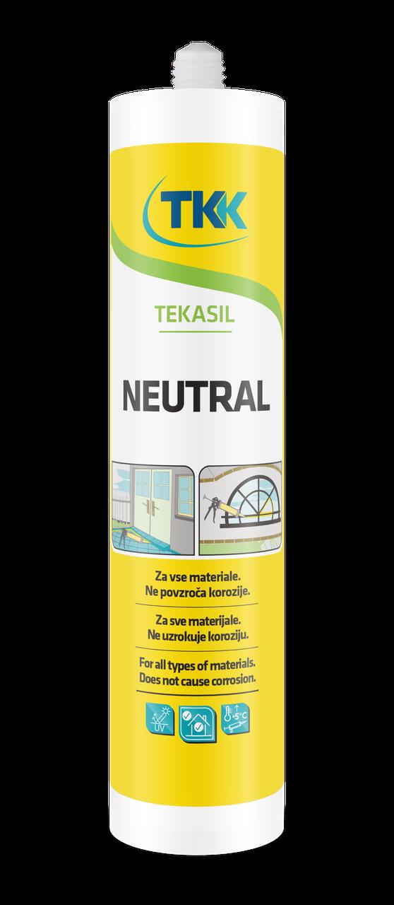 Силикон нейтральный TEKASIL NEUTRAL  (белый) 280 ml